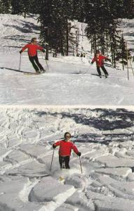 Skiing , Rainbow Mountain , Garibaldi Provincial Park , B.C. , Canada , 40-60s