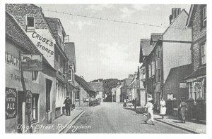 Vintage Reproduction Postcard, High Street, Rottingdean, Sussex DO9
