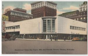 Greyhound Union Bus Depot, Omaha NE