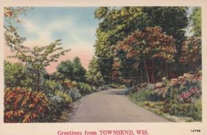 Wisconsin Greetings From Townsend