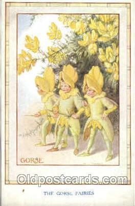 GorseFantasy Postcard Post Card Unused