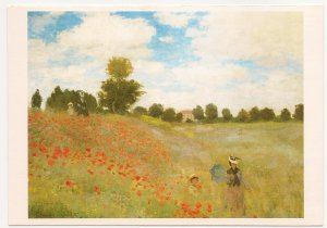 1993 Benedikt Taschen - Monet - The Poppy Field at Argenteuil