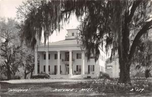 D94/ Natchez Mississippi Real Photo RPPC Postcard c40s Devereaux Home