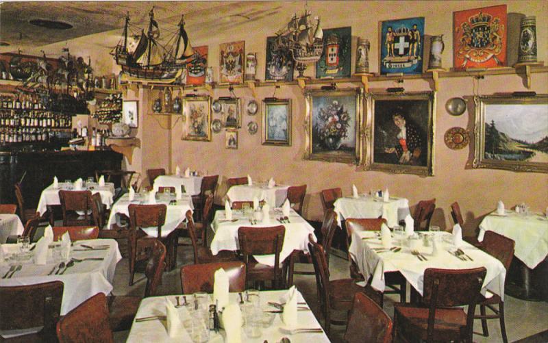 GEMUETLICHKEIT, Old Europe Restaurant and Rathskeller, Washington DC, 40-60s