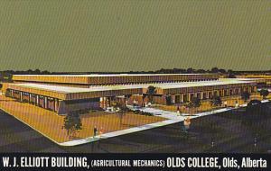 Canada W J Elliott Building Olds College Olds Alberta