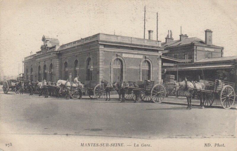 MANTES-SUR-SEINE , France , 00-10s : La Gare