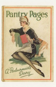 Pantry Pages A Parlourmaids Diary 1929 Book Postcard