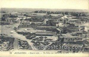 Palace & Ras el Tin Barrack Alexandria Eqypt Unused