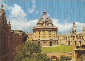 England Oxford View Of Radcliffe Square