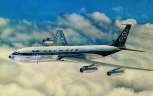 Olympic Airways - Boeing 707-320   (Airline Issued)
