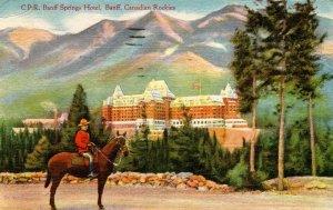 Canada - AB, Banff. C.P.R. Banff Springs Hotel