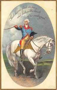 irst in the hearts of his countrymen Artist Ellen Clapsaddle George Washingto...