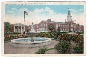 Trenton, N.J., Junior High School, West State Street