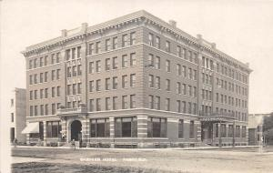 B35/ Fargo North Dakota ND Real Photo RPPC Postcard Gardner Hotel c1910
