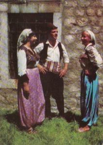 Bosnia and Herzegovina Locals In Native Costume 1969