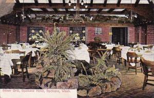 Washington Spokane Interior Silver Grill Spokane Hotel 1913