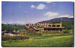 Postcard Modern Cranmore Mountain skimobile Base Station North Conway NH