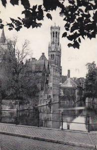 Belgium Bruges Quai du Rosaire 1960 Photo