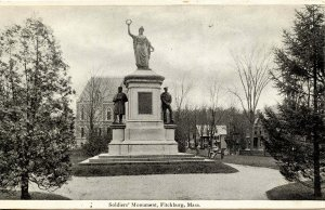 MA - Fitchburg. Soldiers' Monument
