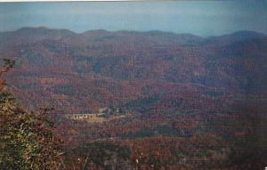 Cashiers Valley From Whiteside Mountain Western North Carolina