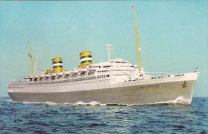 Holland America Line S S Nieuw Amsterdam 1969