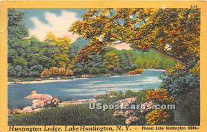 Huntington Lodge Lake Huntington NY 1951
