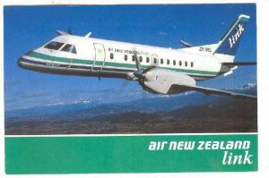 Airplane - Saab 340, Air New Zealand Airlines, New Zealand, 1950-1970s