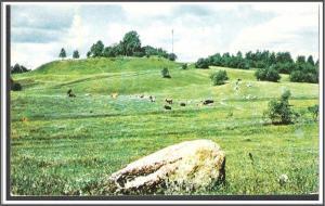 Russia Landscape Postcard