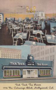 HOLLYWOOD , California , 30-40s ; Tick Tock Tea Room