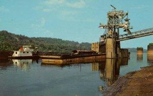WV - Huntington. Ohio River, Island Creek Coal Co