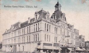 ELKHART , Indiana, PU-1914; Bucklen Opera House