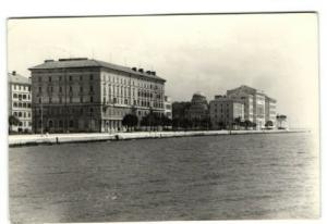 croatia, ZADAR, Hotel Zagreb (1963) RPPC