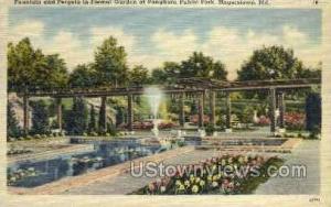 Pangborn Public Park Hagerstown MD Unused