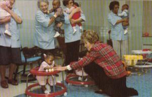 Nancy Reagan At St Anne's Hospital In Hyattsville Maryland