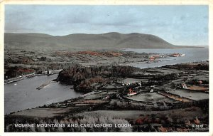 Mourne Mountains and Carlingford Lough Ireland Postal Used Unknown