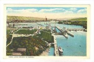 Canal Locks second to Panama, 1910s