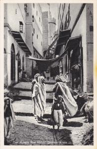 Rue Kleber (Quartier Arabe), ALGER, Algeria, Africa, 1910-1920s