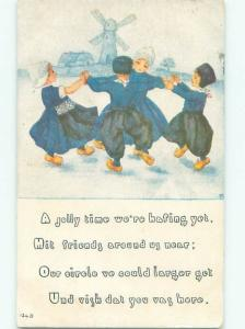 Divided-Back CHILDREN SCENE Great Postcard AA5823