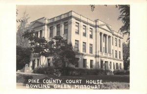 LPSS51 Bowling Green Missouri Pike County Court House Postcard RPPC