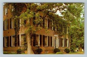 Bardstown KY-Kentucky, My Old Kentucky Home Federal Hill, Chrome Postcard