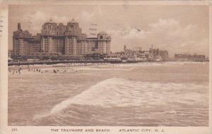 The Traymore And Beach Atlantic City Albertype