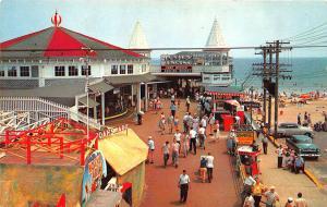 Old Orchard Beach ME Noah's Ark Carousel Pier Postcard