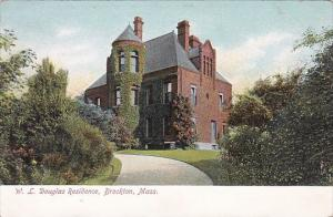 Massachusetts Brockton William L Douglas Residence