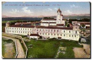 Old Postcard Ile St Honorat Cannes L & # 39Abbaye Lerins