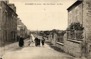 CPA  Guingamp - Rue Sadi Carnot - La Gare  (630241)