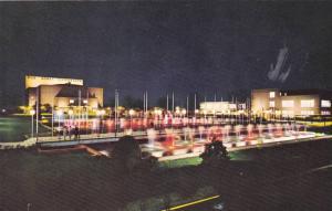 Bob Jones University, Night Scene, Greenville, South Carolina, 1940-1960s