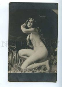 202553 NUDE Nymph FAIRY Butterfly DRAGONFLY by COWPER Vintage
