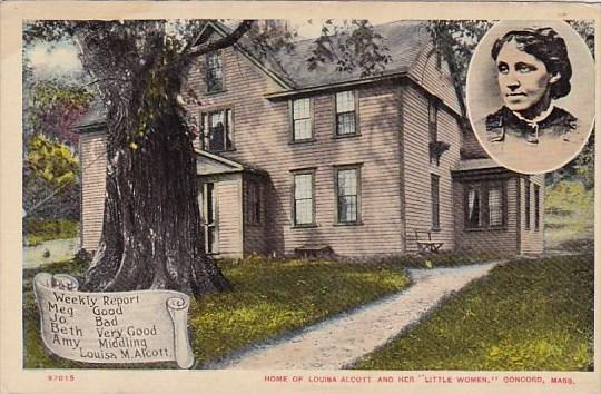 Home Of Louisa Alcott And Her Little Women Concord Massachusetts