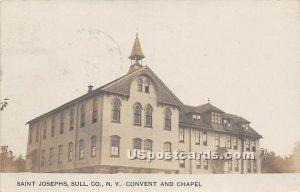Convent and Chapel - Saint Josephs, New York