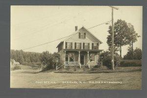 Danbury NEW HAMPSHIRE RP c1910 GENERAL STORE Post Office nr Concord Tilton